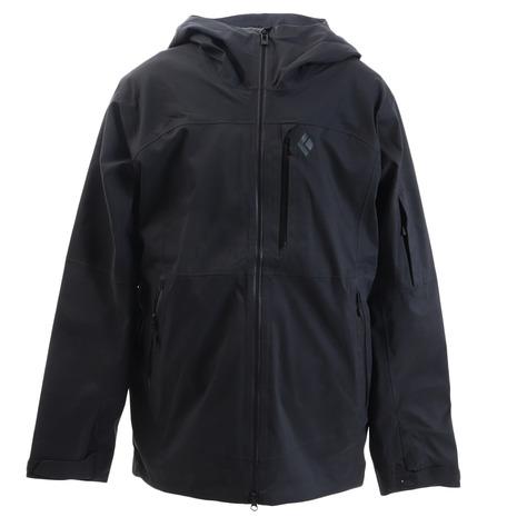ブラックダイヤモンド(黒 Diamond) バウンダリーラインマップトジャケット BD65110 ブラック (Men's)
