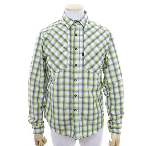 モンチュラ(MONTURA) ヒューストンシャツ Houston Shirt MQLG45X 軽量 吸湿 速乾 (Men's)
