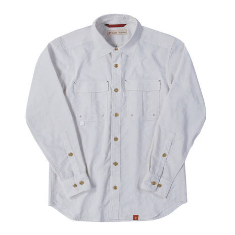 フォックスファイヤー(Foxfire) オールドラベルロゴTシャツ 19820837-WHT (Men's)
