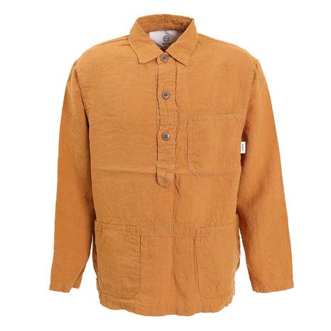 ノイク(NOYKU) リネンプルオーバーシャツ 01-18-6008-CAL (Men's)
