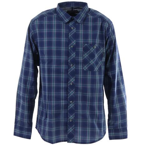 マーモット(Marmot) キューディープラッドロングスリーブシャツ TOMPJB74 NV (Men's)