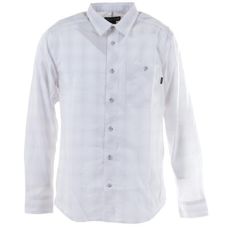 マーモット(Marmot) キューディープラッドロングスリーブシャツ TOMPJB74 WH (Men's)