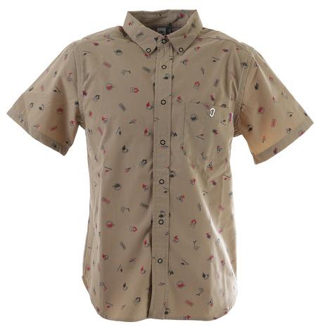 チャムス(CHUMS) プリントシャツ CH02-1143-B001 (Men's)