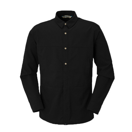 カリマー(karrimor) DTA L/S shirts 51308M182-Black (Men's)
