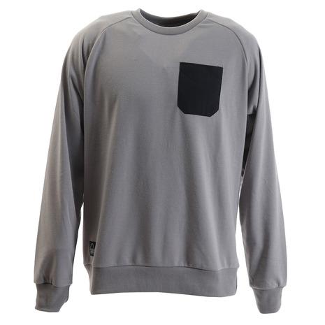 シェラデザインズ(SIERRA DESIGNS) タスランポケットロングスリーブTシャツ 20934599-54.GRY (Men's)