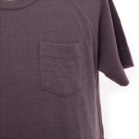 メーカーブランド(BRAND) シルクネップ天竺C/N Tシャツ 72220110 004 (Men's)