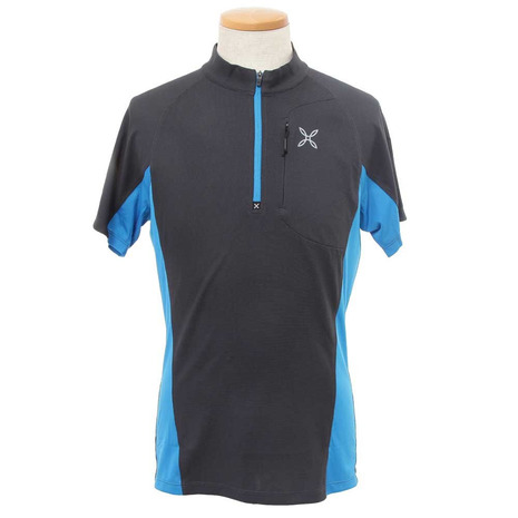 モンチュラ(MONTURA) OUTDOOR POCKET ZIP POLO 速乾 半袖シャツ MTPN05X (Men's)