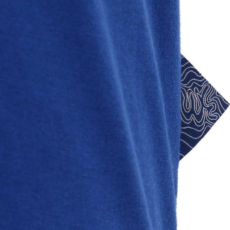 ホールアース(Whole Earth) MENS TREASURE MAP TEE メンズ 半袖Tシャツ WES17M02-5706 BLU (Men's)