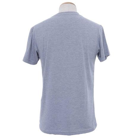 ホールアース(Whole Earth) MENS POCKET VIEW TEE メンズ 半袖Tシャツ WES17M02-5708 GRY (Men's)