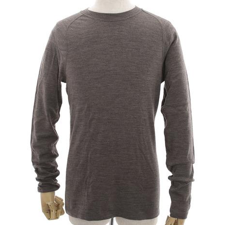 スマートウール(smartwool) NTSミッド250 クルーネック ロングスリーブシャツ メンズ 高機能Tシャツ SW63555-THTHR (Men's)
