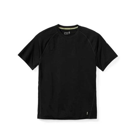 スマートウール(smartwool) MS メリノ150ベースレイヤーショートスリーブ メンズ 高機能Tシャツ SW62000 ブラック (Men's)