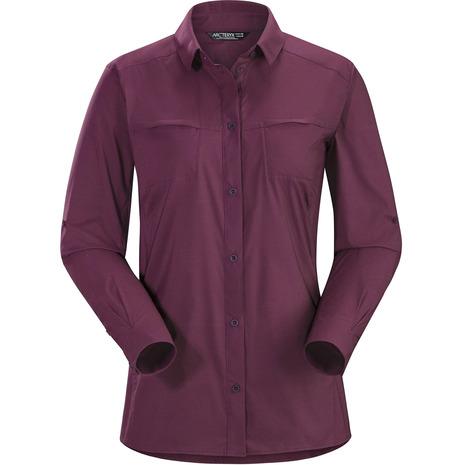アークテリクス(ARC'TERYX) Fernie LS Shirt Ws L06990800-Purple Reign (Lady's)
