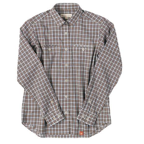 フォックスファイヤー(Foxfire) TSタイニーチェックシャツTS Tiny Check Shirt 8212816-076 ブラウン (Lady's)