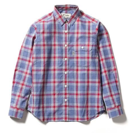 フォックスファイヤー(Foxfire) SCラージチェックシャツ 8212042-080 (Lady's)