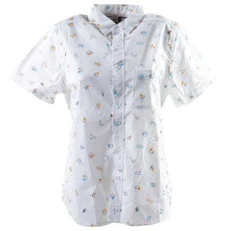 チャムス(CHUMS) プリントシャツ CH12-1143-W001 (Lady's)