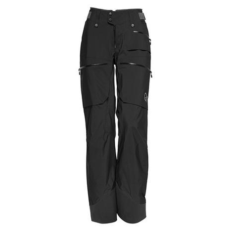 ノローナ(NORRONA) lofoten Gore-Tex Pro Light Pants ウィロフォテン プロ ライト パンツ 1058-17 7718 Caviar (Lady's)