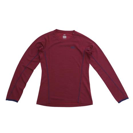 ミレー(Millet) キャスター ウール クルー ロングスリーブTシャツ MIV01636-3700 (Lady's)