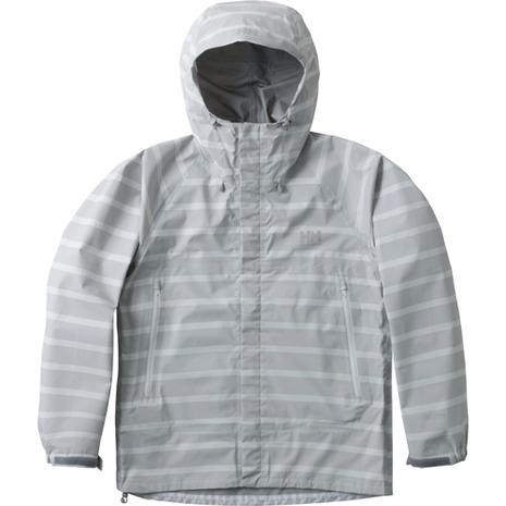 ヘリーハンセン(HELLY HANSEN) スカンザへリーレインスーツ Scandza Helly Rain Suit HOE11700 H1 ボーダーグレー ウィレインウェア (Lady's)