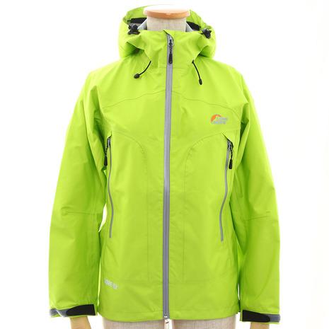 ロウアルパイン(Lowe alpine) LSW13001 GTX VENTURE PRO JACKET 13 W LIME ゴアテックス (Lady's)