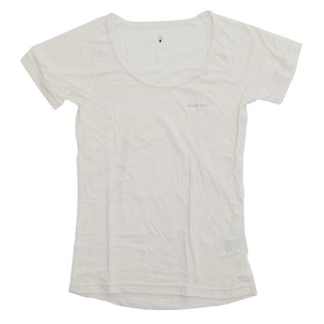 モンベル(mont-bell) Sメリノウール LWUネックTシャツ W 1107176 IV (Lady's)