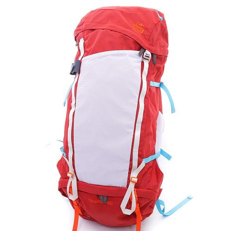 チャムス(CHUMS) グラフトン60 Grafton 60 CH60-2210-R001 Red バックパック (Men's、Lady's)