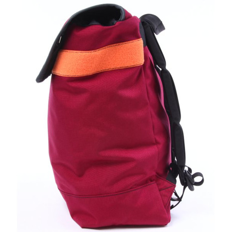 フレドリックパッカーズ(FREDRIK PACKERS) LIGHT WEIGHT BACK PACK M バックパック DARK RED ORANGE (Men's、Lady's)