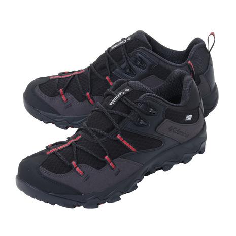コロンビア(Columbia) トレッキングシューズ ローカット 登山靴 セイバー4 ロウ アウトドライ YM7462 011 (メンズ)
