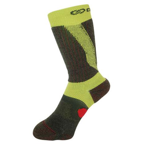 CrossPro 3DFアーチパネル ダブルテーピングクルー 26-28cm チャコール Z178100-26-80 靴下 サポートソックス (Men's)