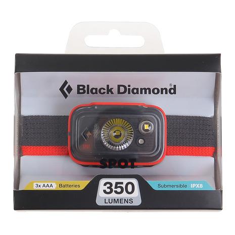 選び方自由 5点以上で10%OFFクーポン☆9 ラッピング無料 超目玉 15限定 ブラックダイヤモンド Black Diamond レディース スポット350 BD81300008 メンズ LEDヘッドライト