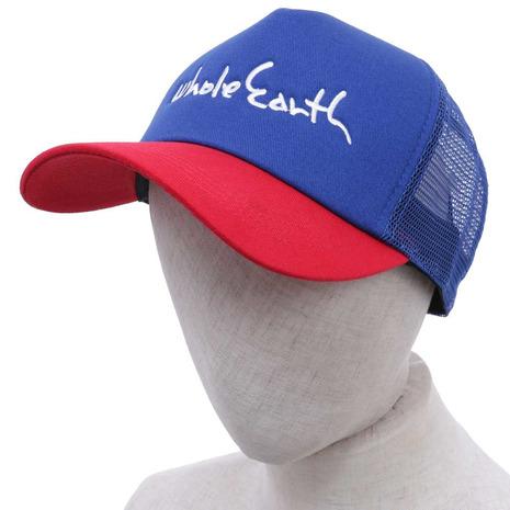 ホールアース(Whole Earth) KIDS BB CAP キッズ ジュニア キャップ WES17K03-7006 BLU