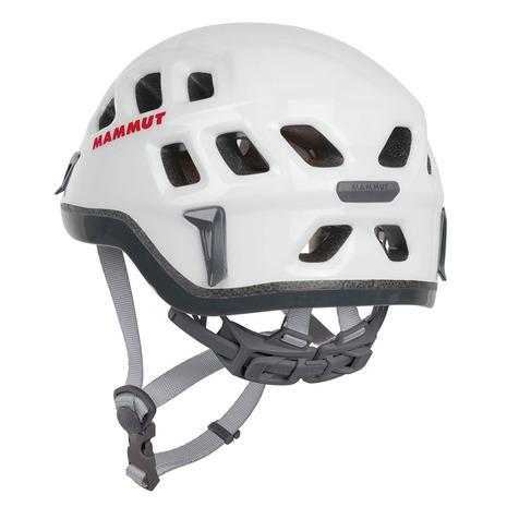マムート(MAMMUT) Rock Rider 52-57cm 2220-00130-0256-3 white-smoke クライミング ヘルメット (Men's、Lady's)
