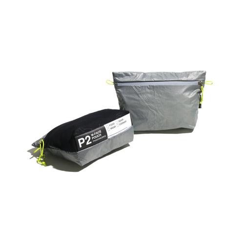 パーゴワークス(PaaGo Works) W-FACE ポーチ 2 WF-07-GR