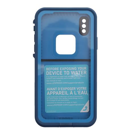 ライフプルーフ(LIFEPROOF) FreSeries for iPhoneX ケース 77-57167 Banzai Blue (Men's、Lady's)