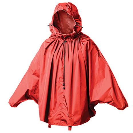 ブルックス(BROOKS) CAMBRIDGE RAINCAPE S RED レインウエア 90-2581500406 (Men's、Lady's)