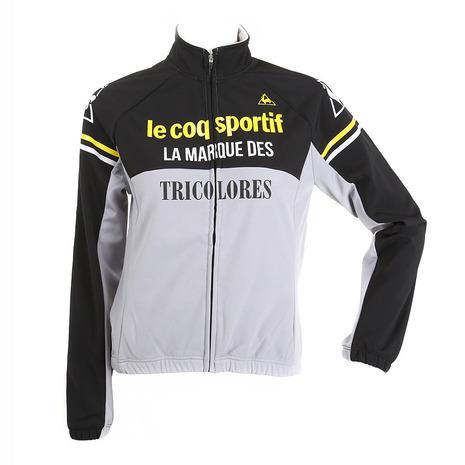 ルコック スポルティフ(Lecoq Sportif) レディスストレッチフリース3Lジャケット レディース ジャケットウエア QC-845363 BLK ブラック (Lady's)