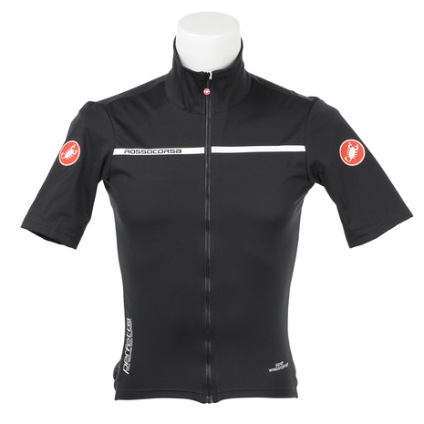 カステリ(Castelli) Perfetto Light 2 Jersey 17085 085 LIGHT BLACK 半袖ジャージ (Men's)