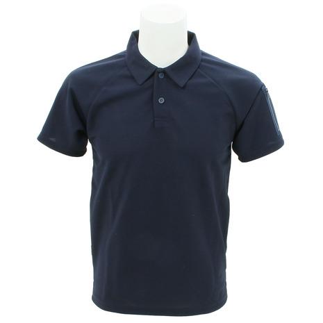 リンプロジェクト(rin project) ミリタリー ポロシャツ 2124 NAVY 045 (Men's、Lady's)
