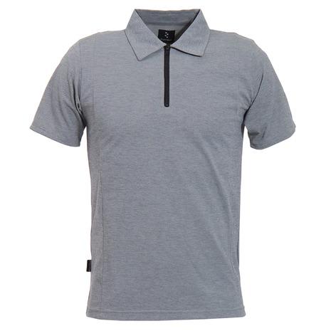 リンプロジェクト(rin project) ジップポロシャツ 2150 015 (Men's)