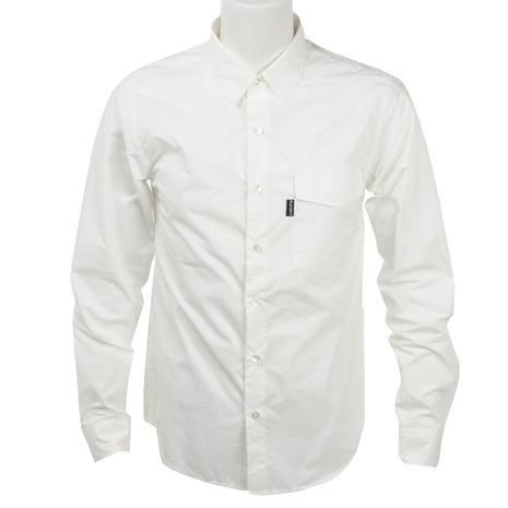 リンプロジェクト(rin project) プロツアラーシャツ サイクルウェア シャツ 2118 White (Men's)