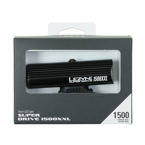 レザイン(LEZYNE) LEDライト SUPER DRIVE 1500XXL BK 57-3501033002 (Men's、Lady's、Jr)