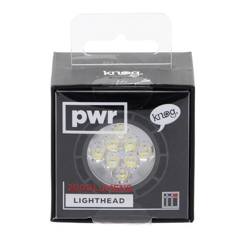 ノグ(Knog) PWR LIGHTHEAD 2000L 54-3556370202 (Men's、Lady's、Jr)