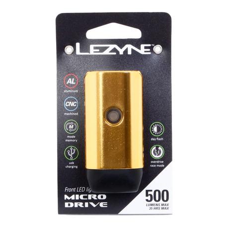 レザイン(LEZYNE) Y12 マイクロ ドライブ 500XL 57-3502351007 ゴールド (Men's、Lady's)