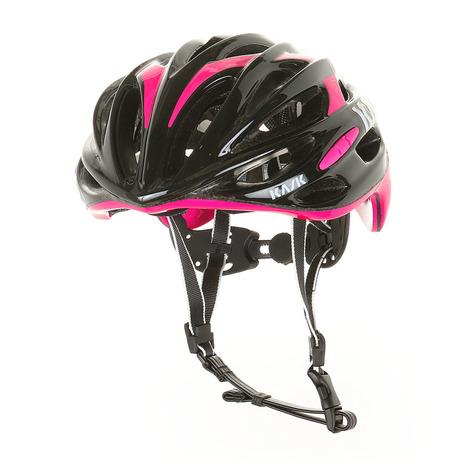 カスク(KASK) MOJITO モヒート サイズ M 2048000000413 BLK/FUCHSIA ヘルメット (Men's、Lady's)