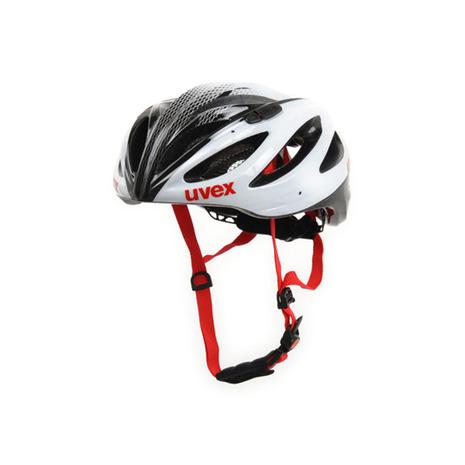 ウベックス(UVEX) boss raceヘルメット 55-60 410229 0817 WHT/BLK (Men's、Lady's)