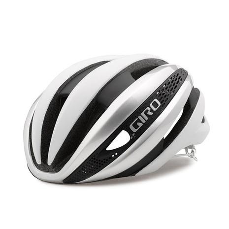 ジロ(giRo) SYNTHE シンセ (サイズ:M)サイクルヘルメット JCF公認 35-1027054522 MATTE WHT/SIL (Men's、Lady's)