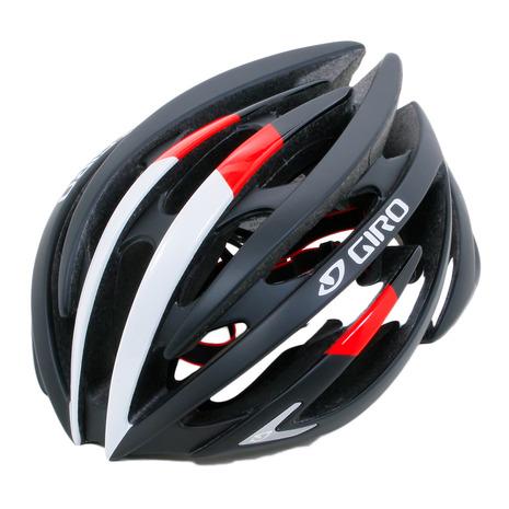 ジロ(giRo) ロードヘルメット イオン ワイドフィットモデル 35-1047066387 M. BLK/BRIGHTRED (Men's)