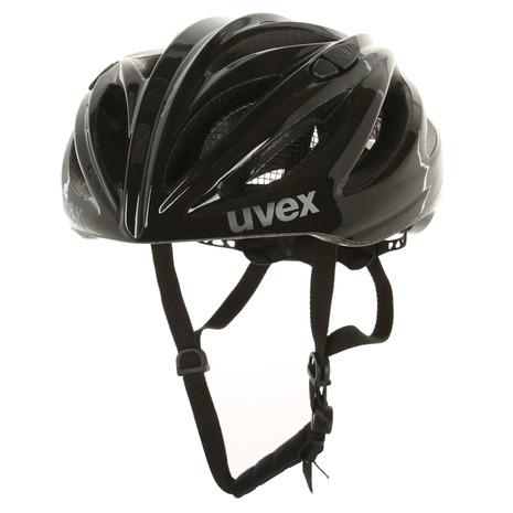 ウベックス(UVEX) boss race サイズ:55-60 サイクルヘルメット 410229 0317 Black (Men's、Lady's)