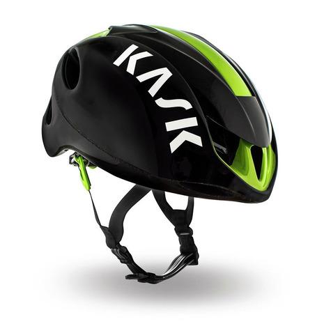 カスク(KASK)【店頭展開による多少の傷汚れあり】INFINITY男女兼用自転車ヘルメット2048000001366BLK/LIME(メンズ、レディース)