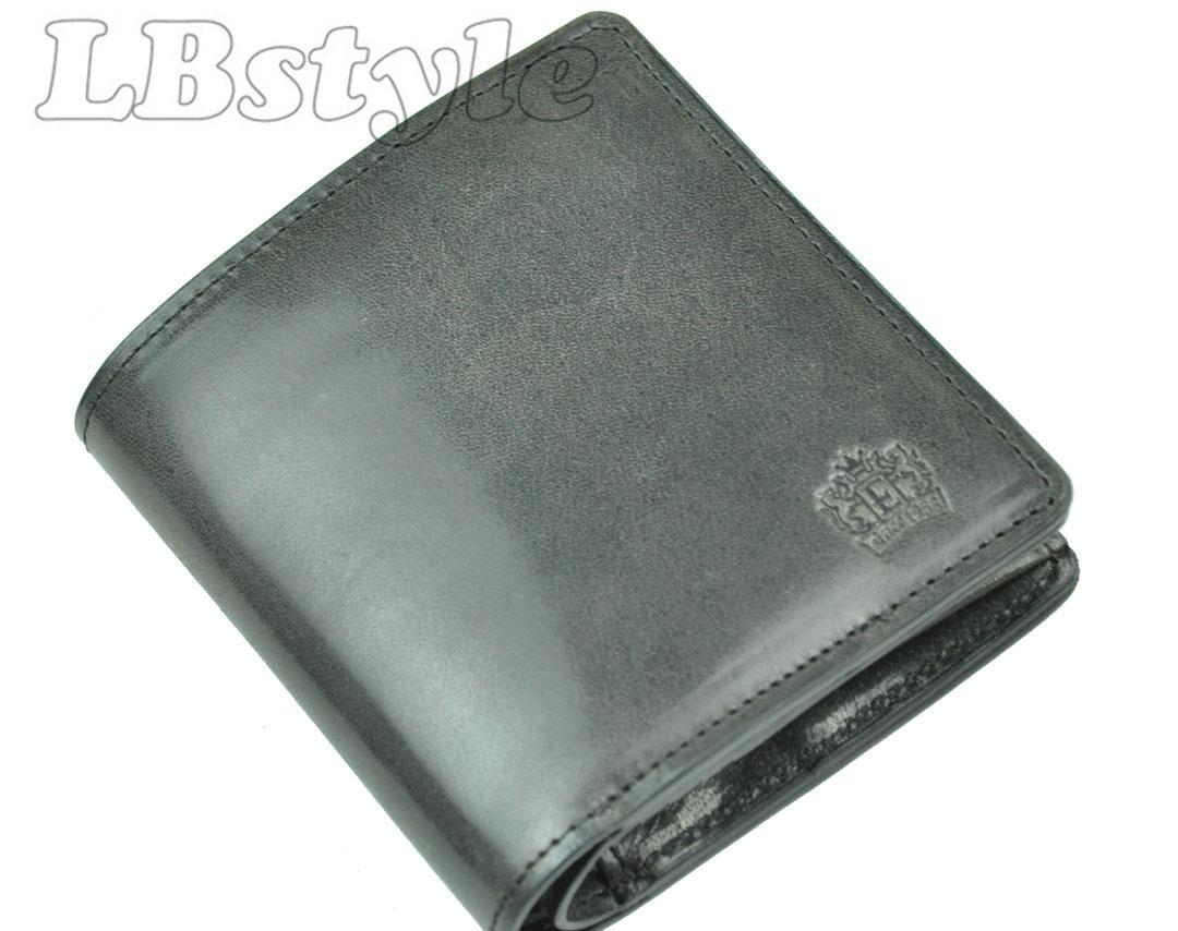 財布 エレザ メンズ Eletha 財布 馬革 小銭入れ付き 二つ折り財布 紳士サイフ エレザ 日本製900-0754