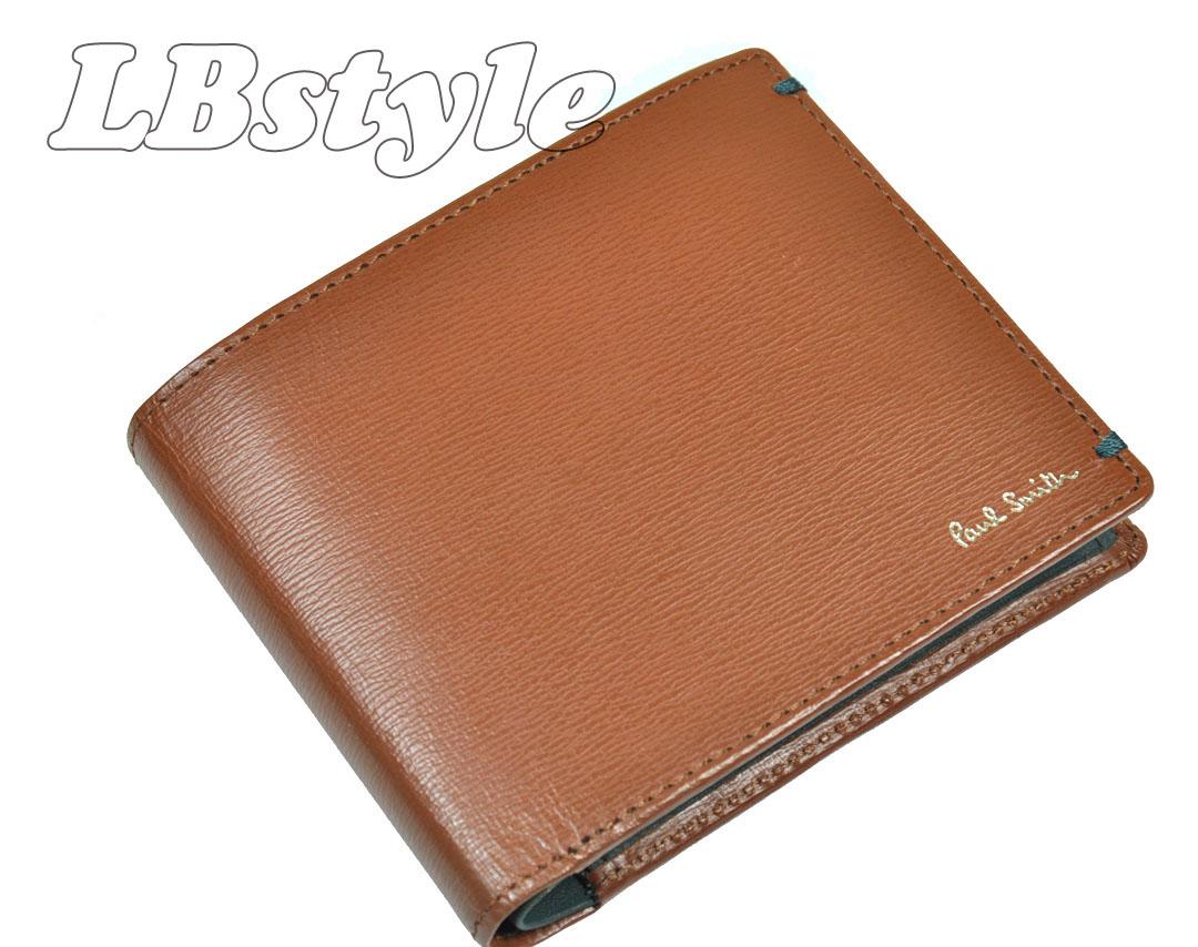 二つ折り財布 ポールスミス メンズ 二つ折り財布 ポールスミス メンズ 財布 ポール・スミス カラーコンビ牛革・羊革 二つ折り財布 ポールスミス900-0833